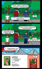 To those of you who watched the first movie religiously, the title of this comic is funny.