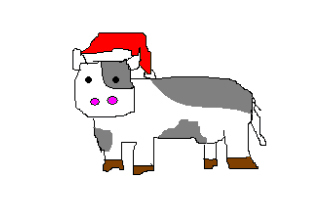 Santa Cows is coming to town?